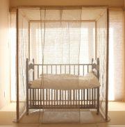 【受注生産】ヘンプの小ぶり蚊帳 ~ベビー/子供のための癒し空間~