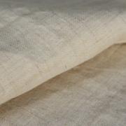 【在庫限り】ヘンプ100% 国内織立  中厚(24Nm) きなり  生地 約130cm幅