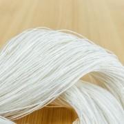 手仕事用ヘンプ糸 オフ白 ~手編み・アクセサリー・手織り用に~