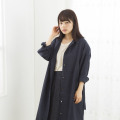 【在庫限り】麻のワンピースコート  ~デザイナーズコラボ~