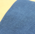 ガーゼハンカチ藍色