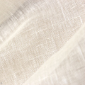 【hemp-material.jpに移動しました】リネン/ヘンプ 薄手 蚊帳生地 粗い平織り オフ白  <織り立て・未洗い>