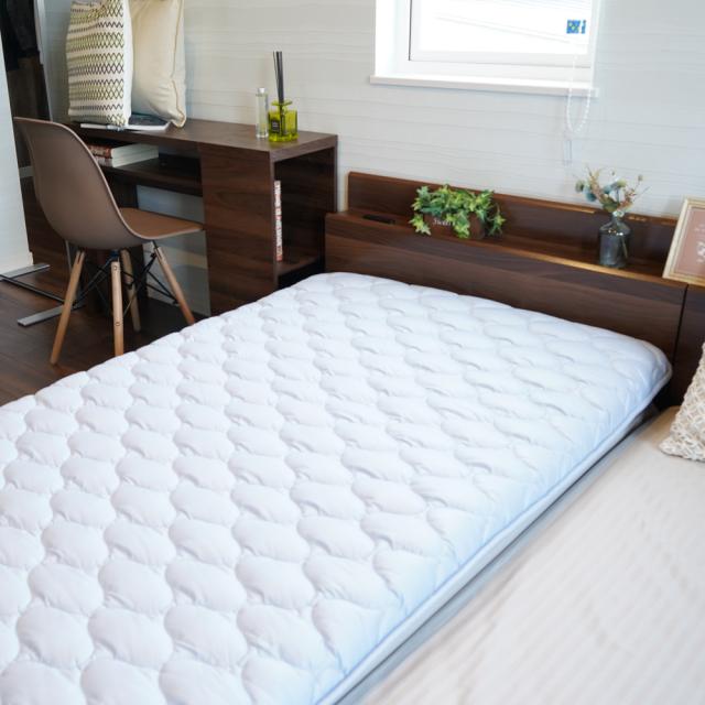 ベッドマットS ブルー