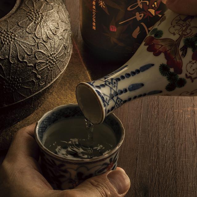 まろやかなお燗酒「朝日山 秋あがり純米」