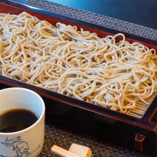 あさひ山 そば乾麺詰め合わせ(布海苔・山芋×各4把)