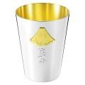 金・銀・銅の富士山タンブラー 350ml 【富士山の純銅製カップ・金メッキ・銀メッキ・世界遺産・オリンピック】