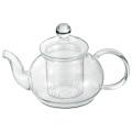 【悠遊器房】ティーポット600【耐熱ガラス】【紅茶、緑茶】【ティータイム】【電子レンジ】【大容量】
