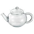 【悠遊器房】ティーポット 390【ティーポット】【18-8ステンレス茶こし付】【耐熱ガラス】