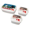 リサとガスパール レンジ容器3点セット【LGS-5】