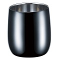 【BRILLIANT BLACK】 2重ロックカップ 250ml 【ブリリアントブラック・ステンレス黒染め ・新潟県燕市産】