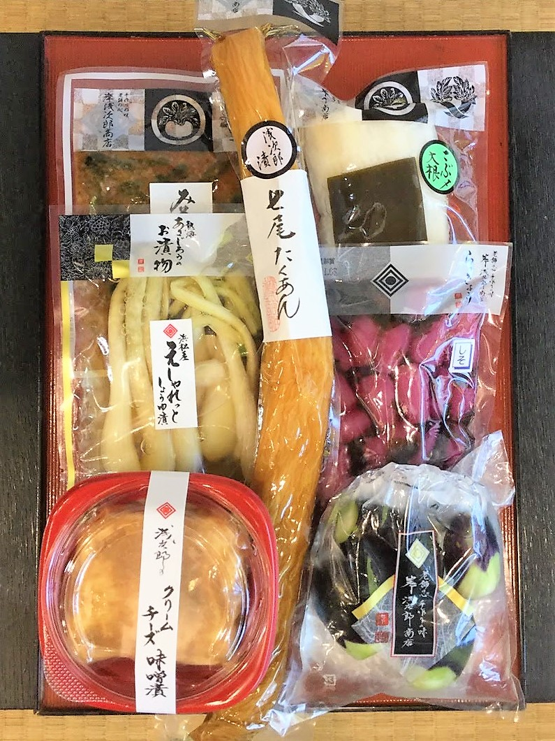 【オンラインショップ限定】 七尾たくあん浅次郎漬と秋に召し上がって頂きたいお漬物7点セット AKI