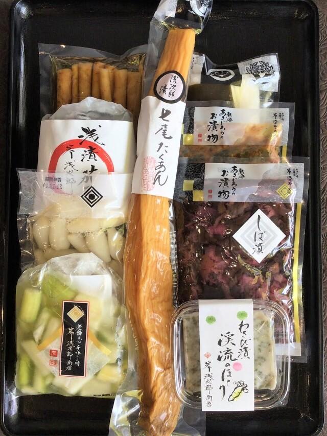 【オンラインショップ限定】七尾たくあん浅次郎漬と人気のお漬物お詰め合わせ8点セット