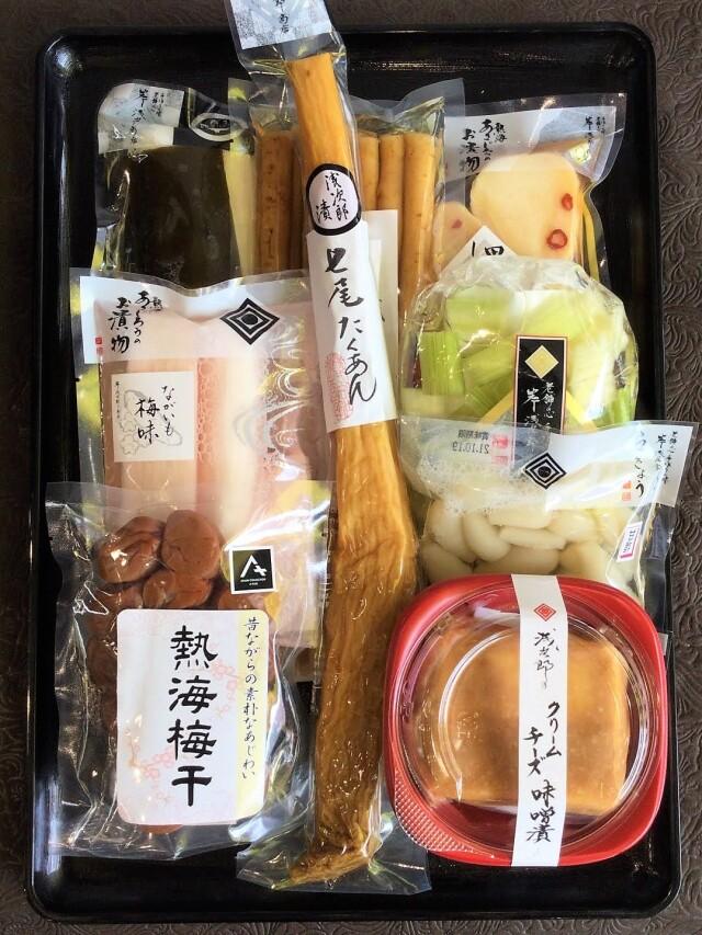 【オンラインショップ限定】七尾たくあん浅次郎漬と人気商品のお詰め合わせ9点セット