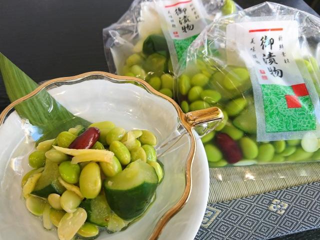 【夏季限定】枝豆ときゅうりのあっさり漬 彩の夏