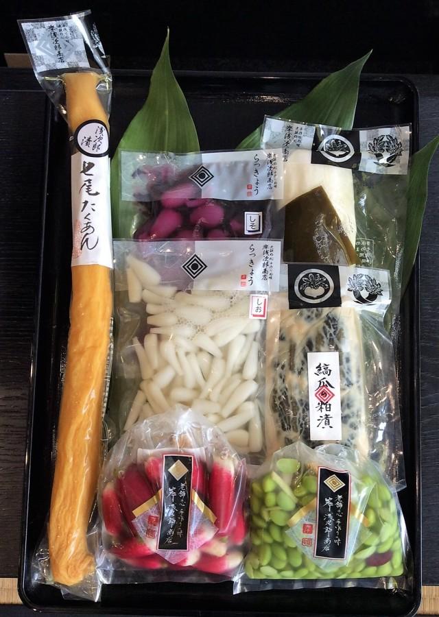 【オンラインショップ限定】夏のお詰め合わせ 七尾たくあん浅次郎漬と夏季限定のお漬物を含めた7点セット AKI