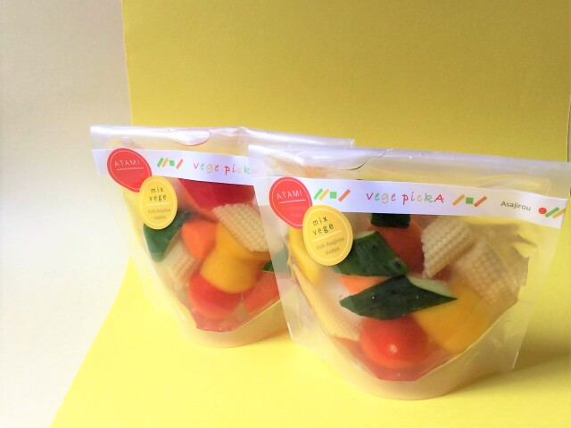 【リニューアルしました】お気軽にお手軽にかわいく vege pickA(ベジピッカ)~mix vegetable~