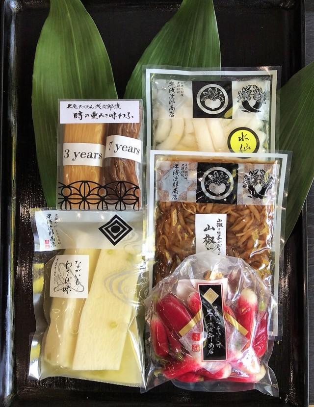 【オンラインショップ限定】夏のお詰め合わせ 七尾たくあん浅次郎漬の食べ比べセットと夏おススメのお漬物セットYURI 2