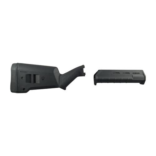 【レミントンM870-12G用 SGA ストック】&フォアエンドセット黒