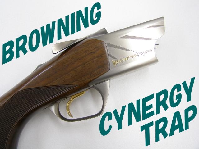 ブローニング【シナジー上下二連トラップ銃】国内仕様
