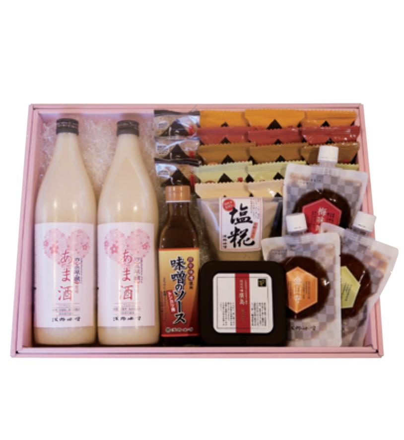 【あま酒ギフト】 AG-0958 【広島県産米 「恋の予感」 使用】