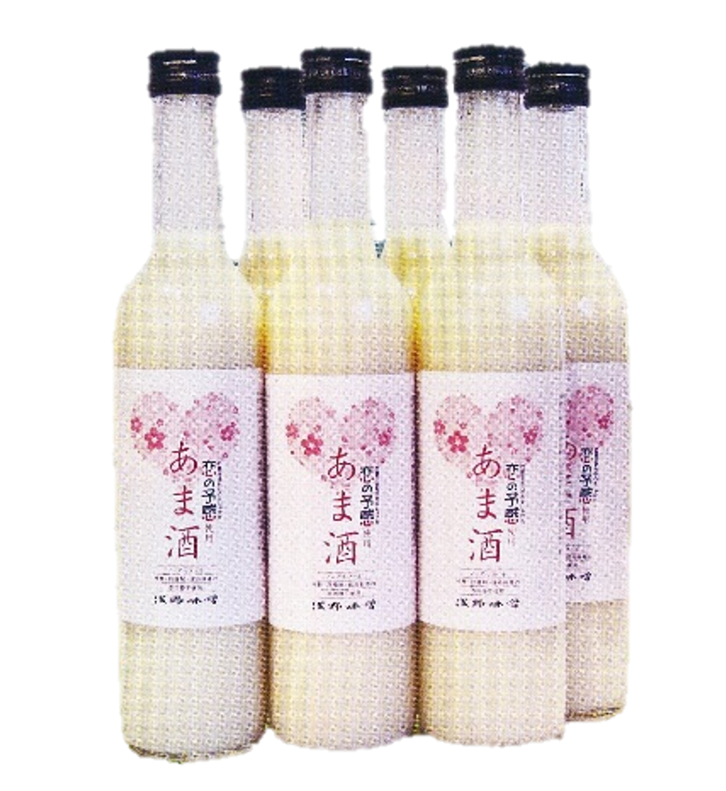 【広島県産米 「恋の予感」 使用】 あま酒 500ml×12本 (ストレート)