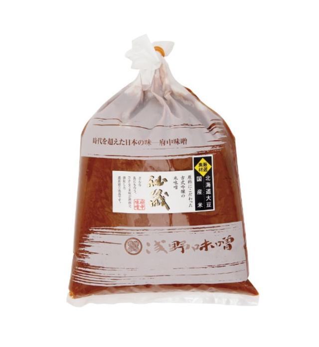 古式吟醸『秘蔵』(漉し) 1kg 袋入り