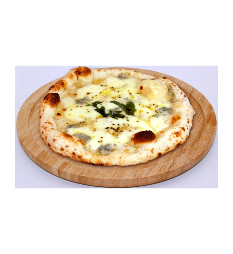 【味噌屋のピザ】白味噌のクアトロフォルマッジ