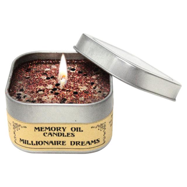 [ミリオネア ドリーム(Millionaire Dreams)(億万長者の夢)]アンシェントメモリーオイル/キャンドル