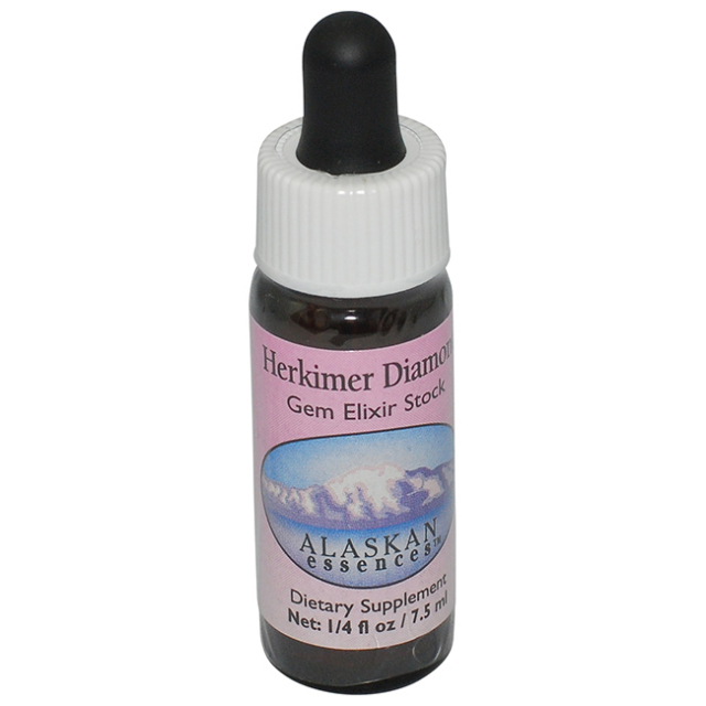 [ハーキマーダイヤモンド]アラスカン・エッセンス/ジェムエリクサー/フラワーエッセンス