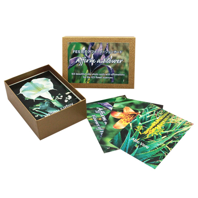 [アファーメーションカード全103枚(日本語版)]FESフラワーエッセンス/その他/フラワーエッセンス