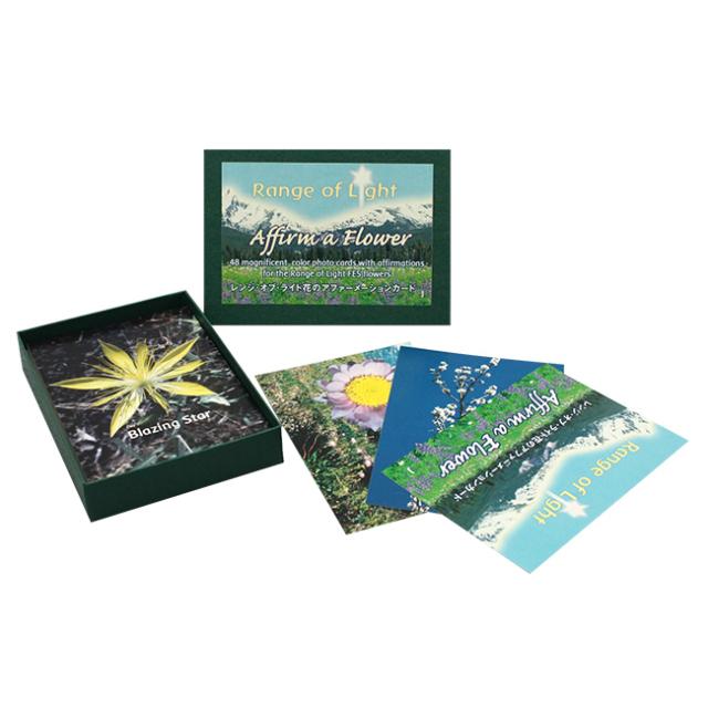 [レンジオブライトアファメーションカード全48枚(日本語版)]FESフラワーエッセンス/その他