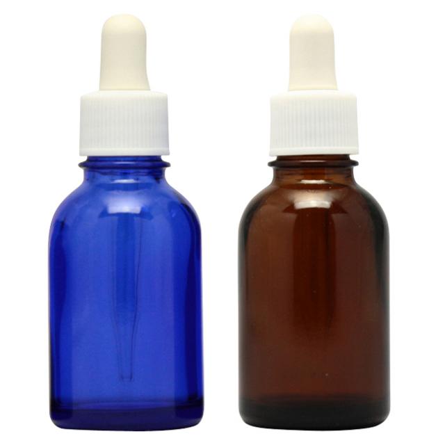 [ドーセージボトル 20ML MIX(ブルー ブラウン) 合計24本セット]ドーセージボトル・スプレー
