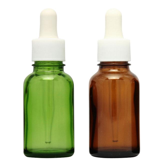 [ドーセージボトル 30ML MIX(グリーン ブラウン)合計12本セット]ドーセージボトル・スプレー