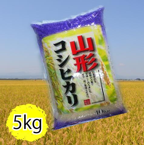 山形県産コシヒカリ5kg