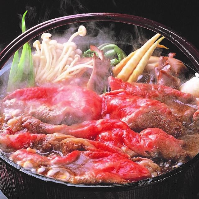 山形牛すきやき鍋