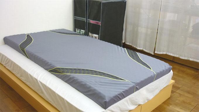 三層特殊立体構造コンディショニングマットレス【SLEEPforWIN】エアー:AIR(西川産業・日本製)セミダブルサイズ