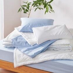 西川独自の「アレル物質対策加工」の衛生寝具!!通年性のダニ、季節性の花粉からあなたを守ります!アレルウォール合繊掛けふとん:シングルサイズ