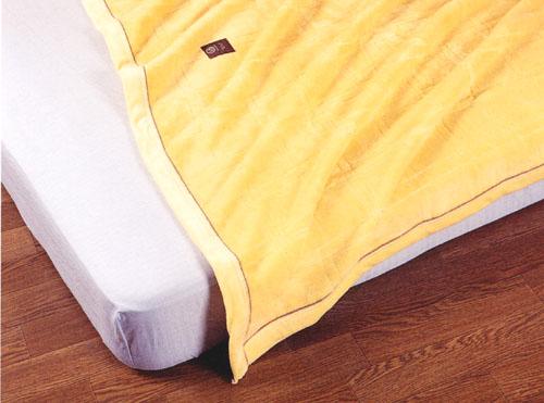 当店一押し毛布・冬はムレずに暖か、夏も爽やかなオールシーズン快適なシール織『肉厚』綿毛布(Pureケット) ダブルサイズ
