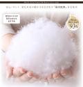 【ネット限定・送料無料】ロイヤルゴールドラベル付き・安心の日本製・スペイン産ホワイトダックダウン93%国内洗浄・羽毛掛布団:キングサイズ直送