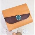 2つ折財布    (キャメルY)