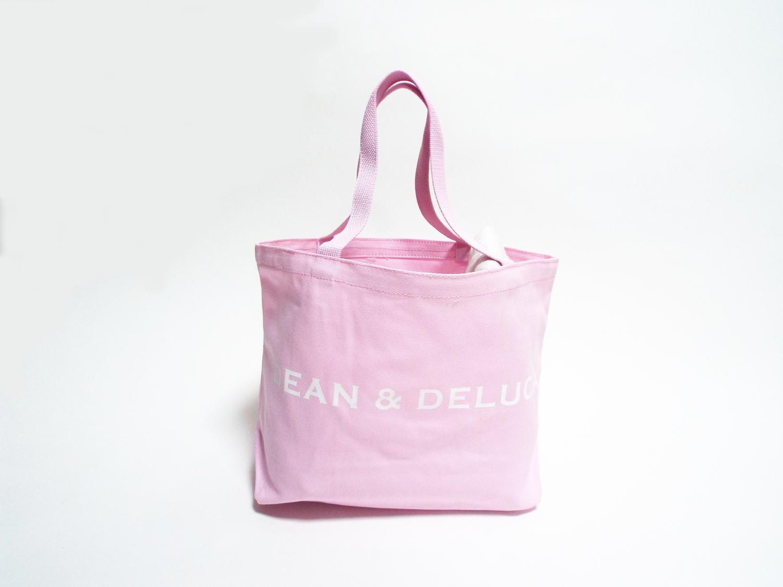 DEAN&DELUCA トートバック ピンク Lサイズ