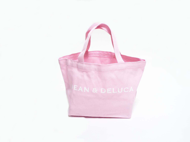 DEAN&DELUCA トートバック ピンク Sサイズ