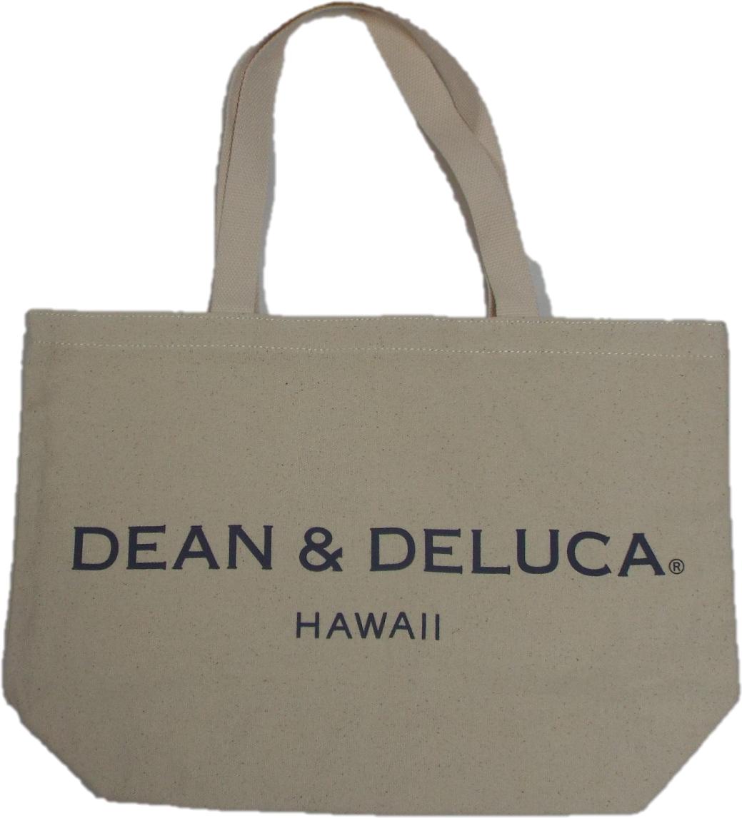 DEAN&DELUCA(デアン&デルーカ)ハワイ限定 トートバック アイボリー