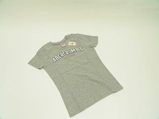 アバクロンビー&フィッチ アバクロ レディース半袖Tシャツ グレー