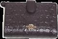 COACH(コーチ)パテントレザーコーナーZIP2つ折り財布 25937 オックスブラッド(濃いワインカラー)