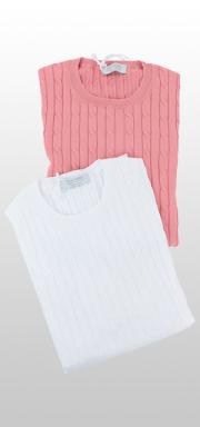 【春夏ブランド】クルーネックセーター / Gran Sasso(グランサッソ)