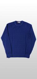 【秋冬ブランド】クルーネックセーター / Gran Sasso(グランサッソ)