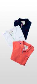 【春夏ブランド】ポロシャツ SLIM FIT / Project E(プロジェクトイー)
