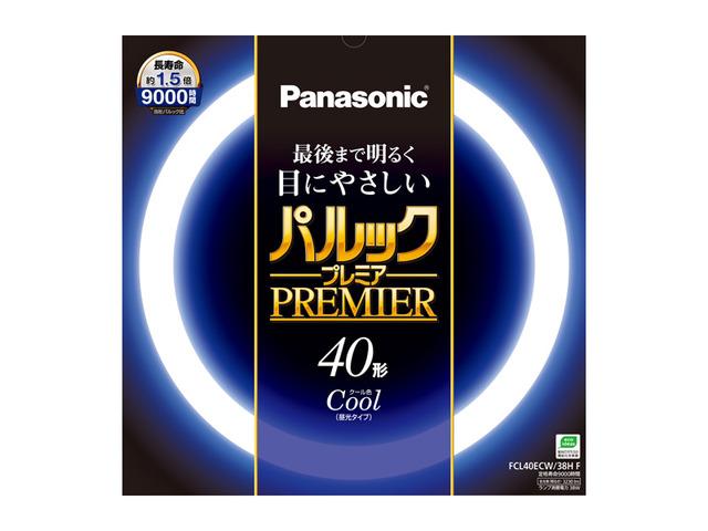 パナソニック FCL40ECW/38HF パルックプレミア 40W クール色 【5セット】