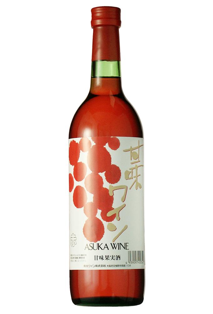 甘味ワイン 赤 720ml